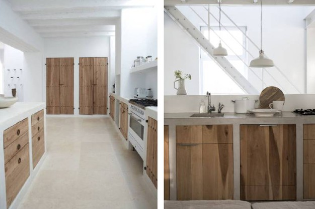 Cucine in cemento per un look industriale magazine - Cucine in cemento ...
