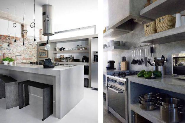 Cucine in cemento per un look industriale - Magazine - Tempo Libero ...