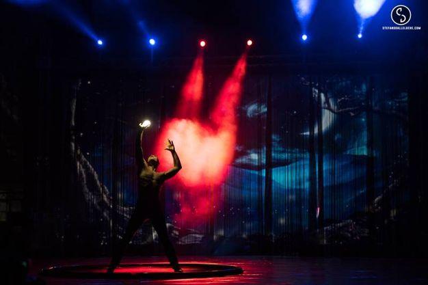 Le prove dello spettacolo Alis (foto Stefano Dalle Luche)
