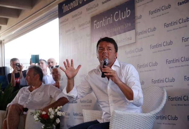 Matteo Renzi al Fantini Club (foto Corelli)
