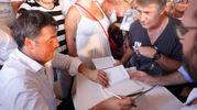 Matteo Renzi fa tappa a Cervia per presentare il suo libro 'Avanti' (foto Corelli)
