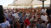 Un folto pubblico ha accolto Renzi (foto Corelli)