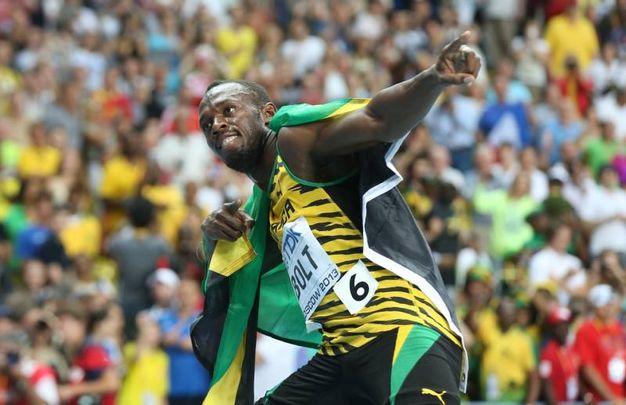Nel 2013 Bolt si conferma l'uomo più veloce al mondo quando vince altri tre ori ai Mondiali di Mosca (Afp)