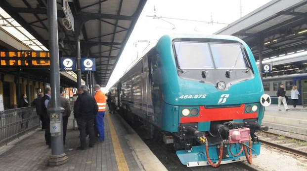 Circolazione dei treni sospesa sulla line Bologna-Prato (Foto d'archivio Schicchi)