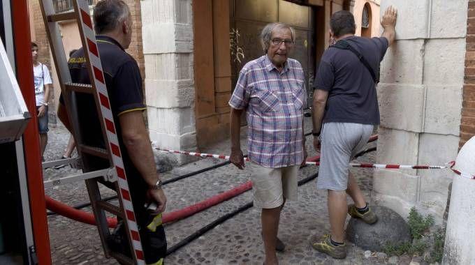 DISPERAZIONE Pirro Bartolucci aveva visto per l'ultima volta giovedì mattina il fratello (Foto Business Press)