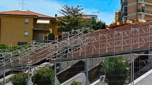 Piscina comunale di Fermo (foto Zeppilli)