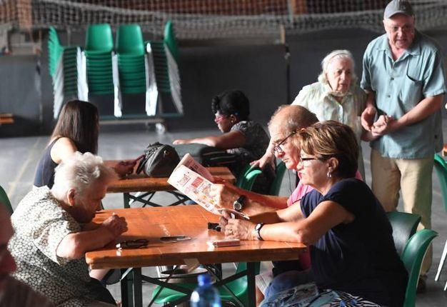 Tantissimi residenti hanno trovato accoglienza nei punti predisposti dal Comune (Foto Schicchi)