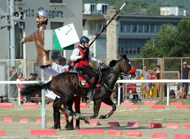 Cavaliere di Porta Tufilla (foto Labolognese)