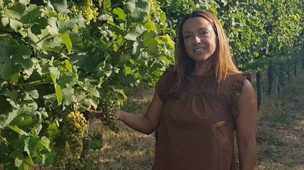 La produttrice Silvia Manzoni, responsabile del settore vitivinicoltura per Confagricoltura