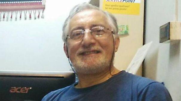 Il professor Pietro Marinelli dopo la sospensione