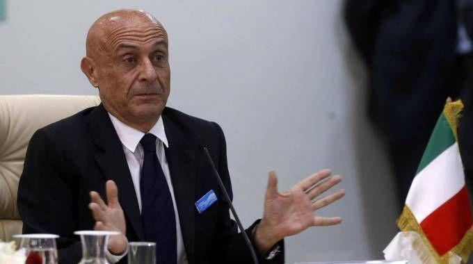 Il ministro dell'Interno Marco Minniti (Ansa)
