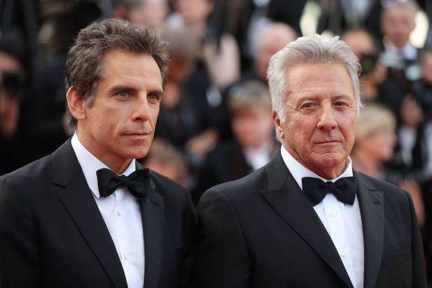 Con Ben Stiller a Cannes (Afp)