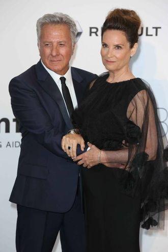 Con la moglie Lisa a un gala Amfar (Lapresse)