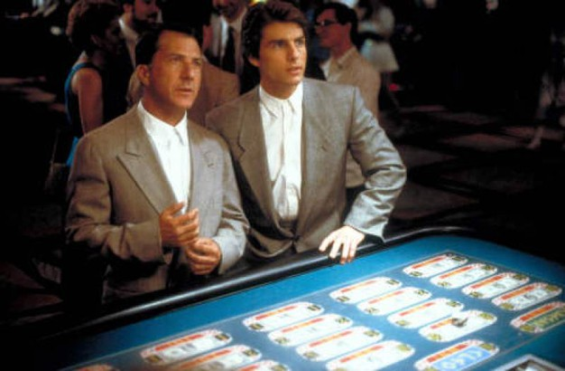 Con Tom Cruise in 'Rain Man' (Lapresse)