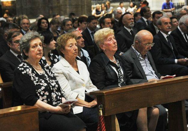I funerali in Duomo di Dionigi Tettamanzi (Newpress)