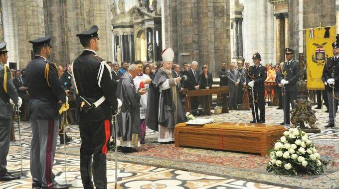 I funerali di Dionigi Tettamanzi (Newpress)