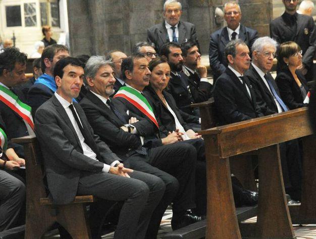 I funerali di Dionigi Tettamanzi nel Duomo di Milano (Newpress)