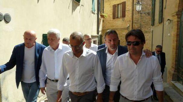 Il ministro Galletti a Fiorenzuola di Focara