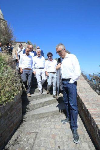 La visita del ministro Galletti (Fotoprint)