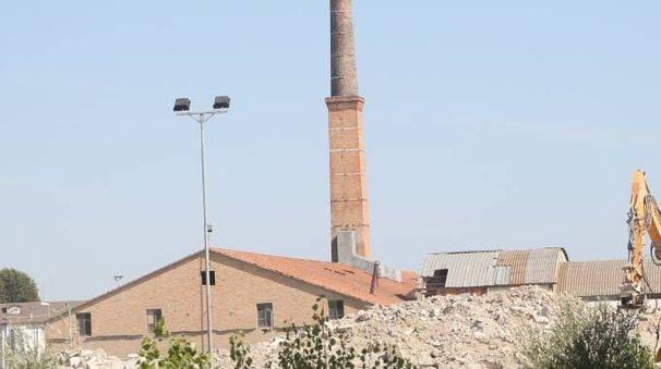 la fornace di Bagnarola e l'area della vecchia cava, oggi ricoperta, frequentata da Alessandri