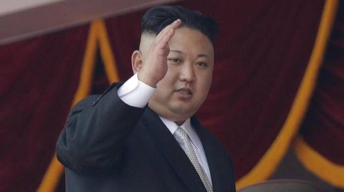 Il leader nordcoreano Kim Jong-un (Ansa)