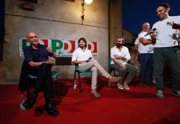 Il ministro dell'Interno Marco Minniti alla festa del Pd a Certaldo (Gianni Nucci/Fotocronache Germogli)