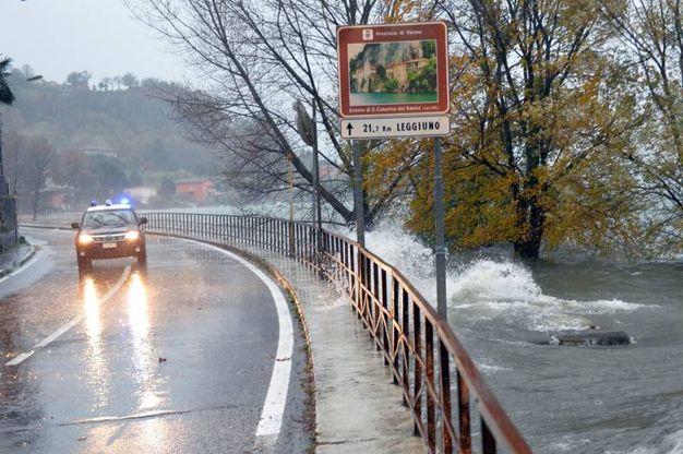 Maltempo a Varese (Newpress)