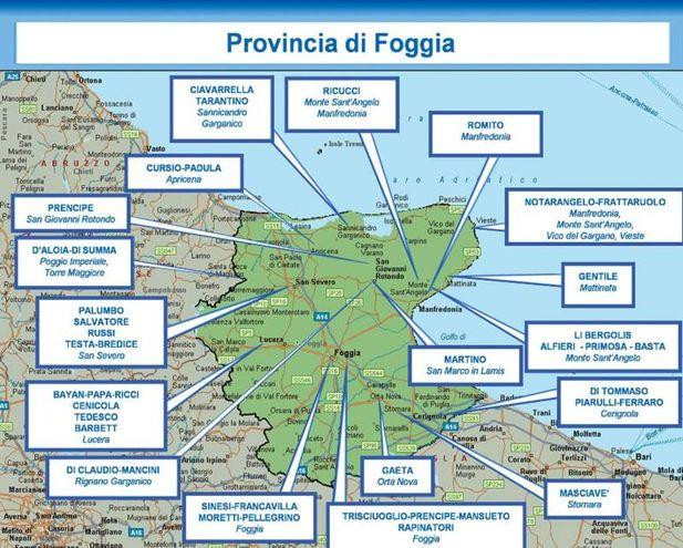 I clan della provincia di Foggia - Ansa