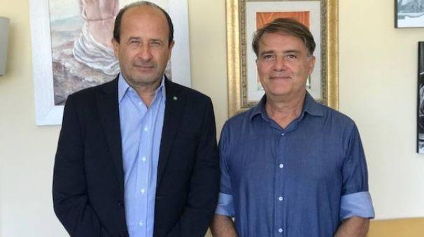 Da sinistra Amerigo Varotti e Luciano Cecchini