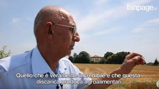 L'ambientalista Stefano Bulzoni nel video pubblicato da Fanpage e trasmesso dal Comune alla Procura