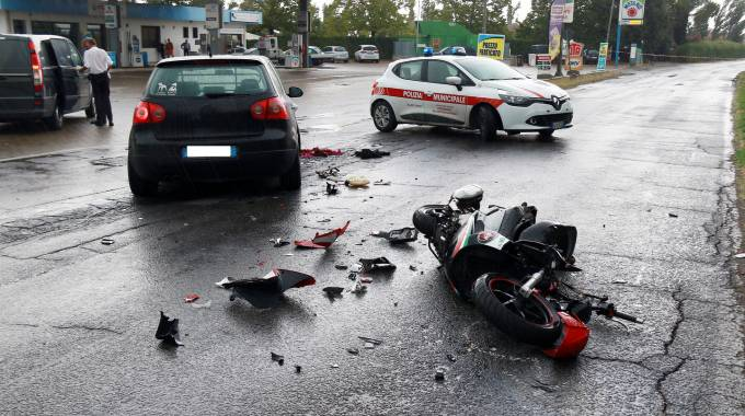 Il luogo dell'incidente (Gianni Nucci/Fotocronache Germogli)