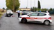 Incidente mortale a San Pierino con intervento della polizia municipale (Gianni Nucci/Fotocronache  Germogli)