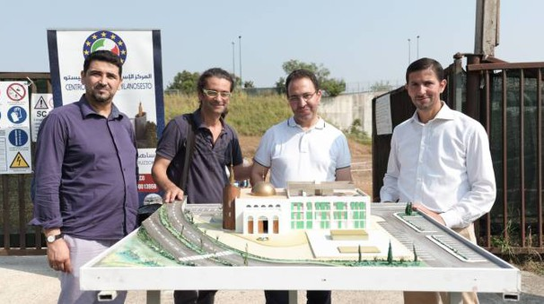 Il progetto per la grande moschea di via Luini oggi contestato dal Comune di Sesto