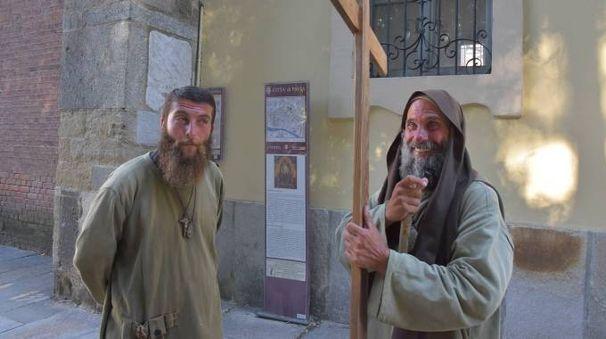 Fratel Davide e Biagio a Pavia (Torres)