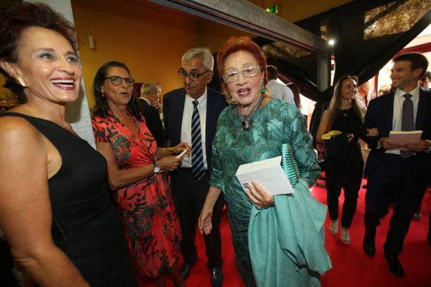 Arriva il pubblico, la signora Pierangeli Tittarelli (Fotoprint)