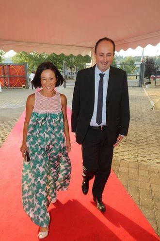 Il vicesindaco Daniele Vimini con signora (Fotoprint)
