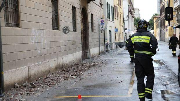 I danni del maltempo nel Bresciano (Fotolive)