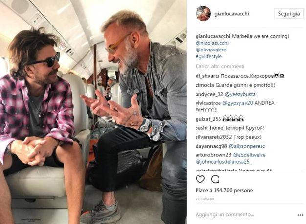 Nicola Zucchi e Gianluca Vacchi