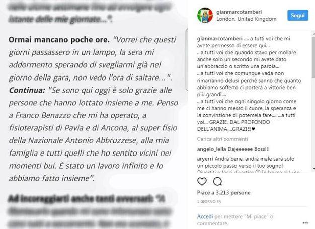 I suoi post su Instagram