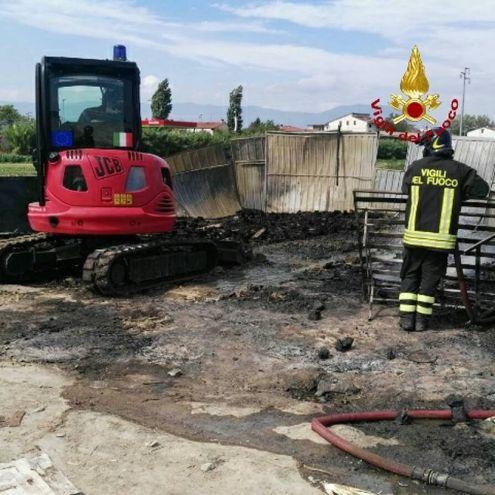 Incendio alle Fontanelle