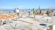 Maltempo ad Albarella, il giorno dopo (foto Donzelli)