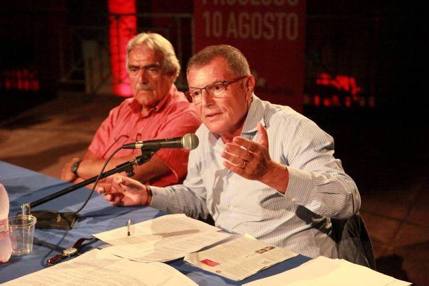 Maurizio Ridolfi, professore ordinario di Storia contemporanea presso l'Università della Tuscia di Viterbo (foto Ravaglia)
