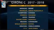 La seconda giornata del girone C della Serie C 2017/2018