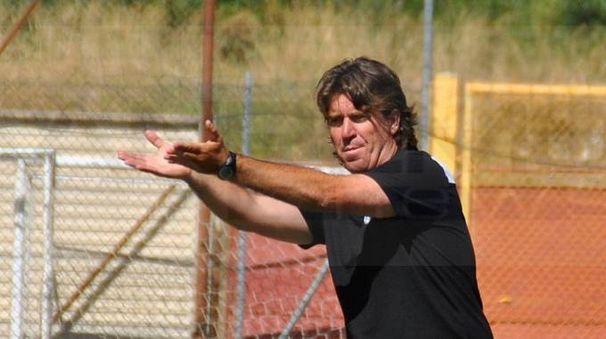 L'allenatore Giancarlo Riolfo (foto Sacchi)
