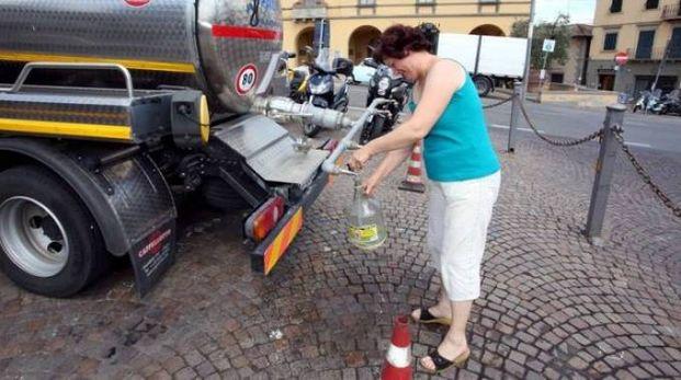 Il Chianti vive ancora l'incubo dell'approvvigionamento idrico dalle autobotti