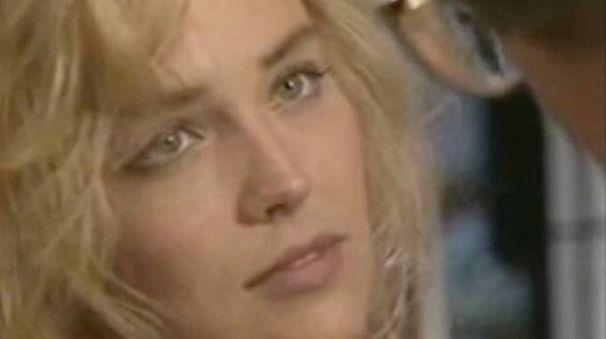 Sharon Stone nel provino per Basic Instinct (Instagram)