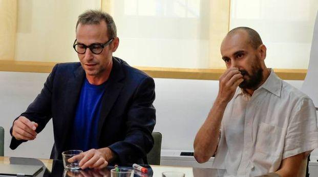 Stefano Daprile di Worx Milano e Giorgio Fipaldini di Open