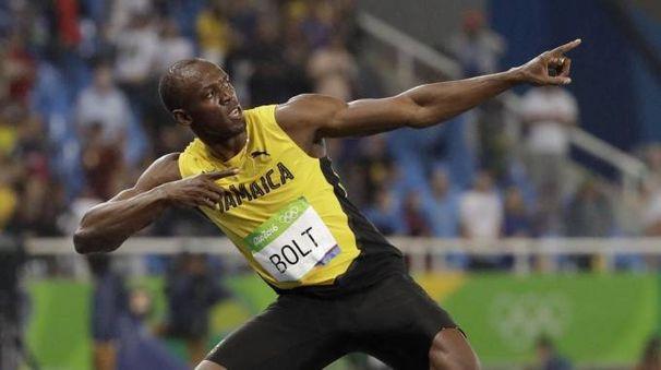 Usain Bolt ai Mondiali di atletica 2017 (Ansa)