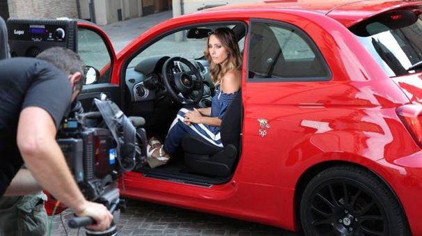 Uno dei momenti delle riprese della puntata di Easy driver