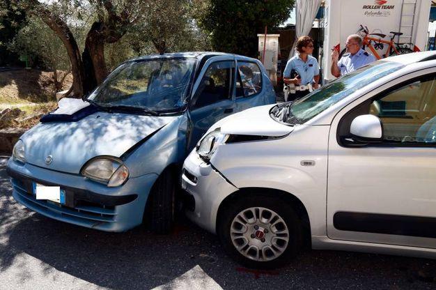 Incidente stradale a Montespertoli (foto Gianni Nucci/Germogli)